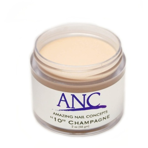 ANC Dip Powder - Champagne #10 2 oz. - part of the ANC Acrylic Nails Dipping System (ANCCP010)