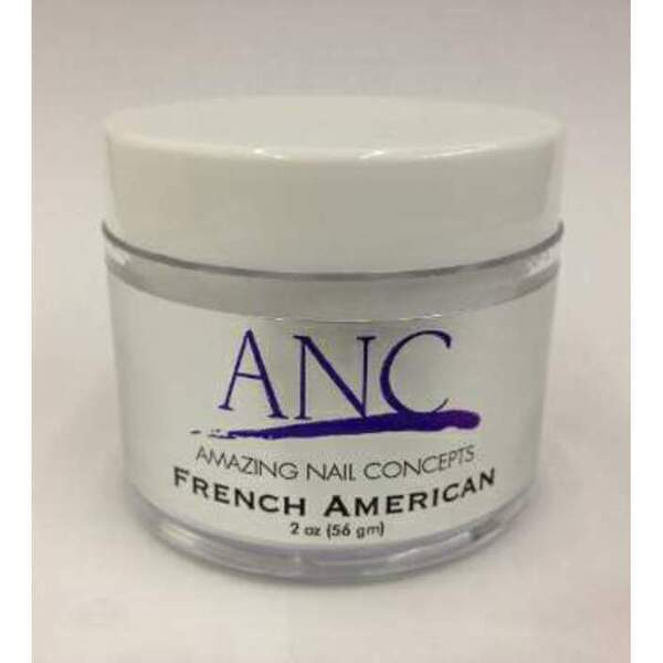 ANC Dip Powder - French American 2 oz. - part of the ANC Acrylic Nails Dipping System (ANCFA)