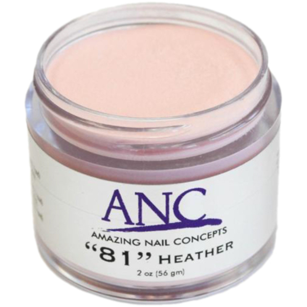 ANC Dip Powder - Heather #81 2 oz. - part of the ANC Acrylic Nails Dipping System (ANCCP081)