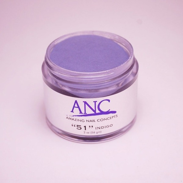 ANC Dip Powder - Indigo #51 2 oz. - part of the ANC Acrylic Nails Dipping System (ANCCP051)