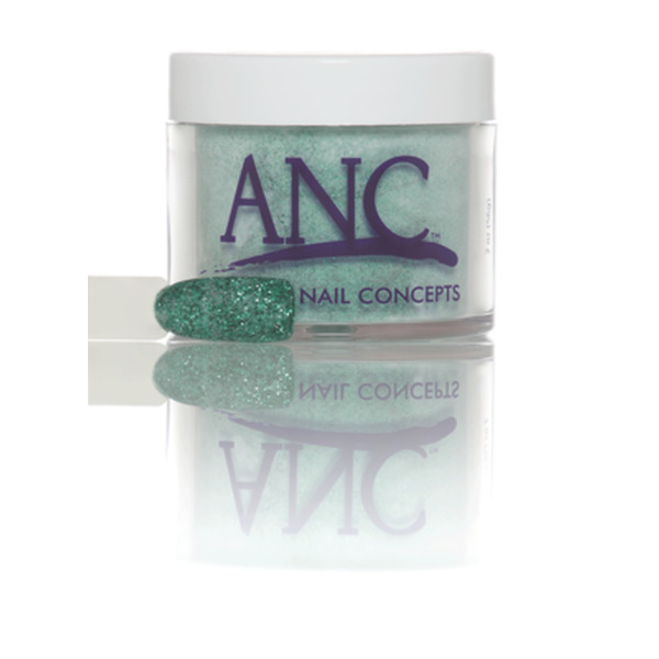 ANC Dip Powder - Lime Glitter #107 2 oz. - part of the ANC Acrylic Nails Dipping System (ANCCPG107)
