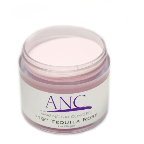 ANC Dip Powder - Tequila Rose #19 2 oz. - part of the ANC Acrylic Nails Dipping System (ANCCP019)