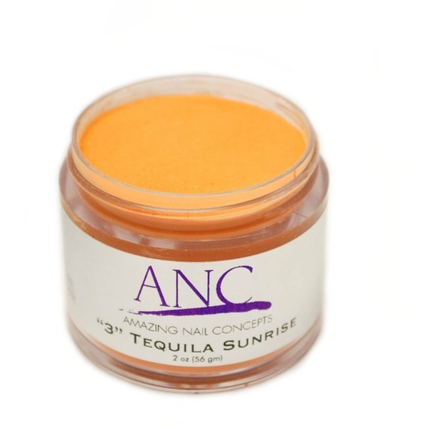 ANC Dip Powder - Tequila Sunrise #3 2 oz. - part of the ANC Acrylic Nails Dipping System (ANCCP003)