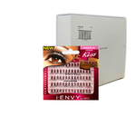 iENVY Eyelash Extenstions - Ultra Black Long - Case of 72 packs ()