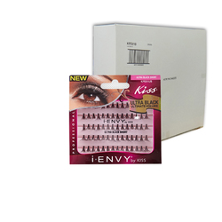 iENVY Eyelash Extenstions - Ultra Black Short - Case of 72 packs ()