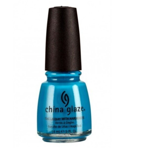China Glaze Lacquer - AQUA BABY 0.5 oz. - #550 (CG550)