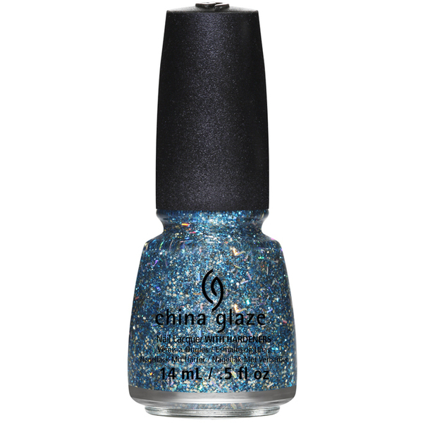 China Glaze Lacquer - BELLS WILL BE BLINGING 0.5 oz. - #1259 (CG1259)