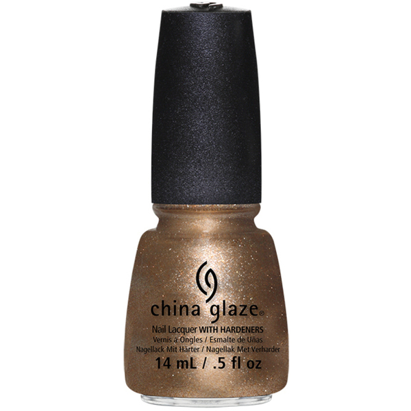 China Glaze Lacquer - GOLDIE BUT GOODIE 0.5 oz. - #1224 (CG1224)