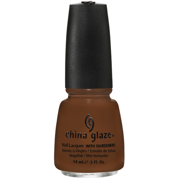 China Glaze Lacquer - MAHOGANY MAGIC 0.5 oz. - #1128 (CG1128)