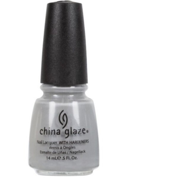China Glaze Lacquer - PELICAN GRAY 0.5 oz. - #952 (CG952)