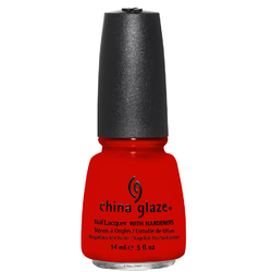 China Glaze Lacquer - ROGUISH RED 0.5 oz. - #1133 (CG1133)