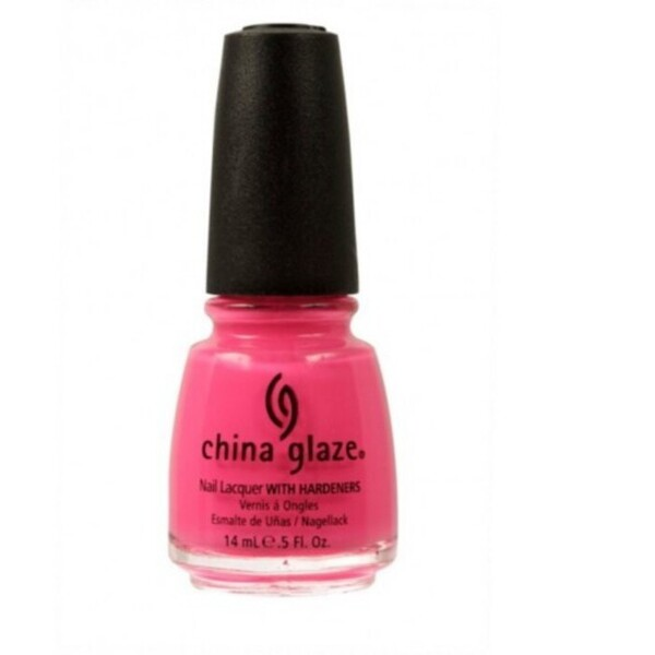 China Glaze Lacquer - SHOCKING PINK 0.5 oz. - #1003 (CG1003)