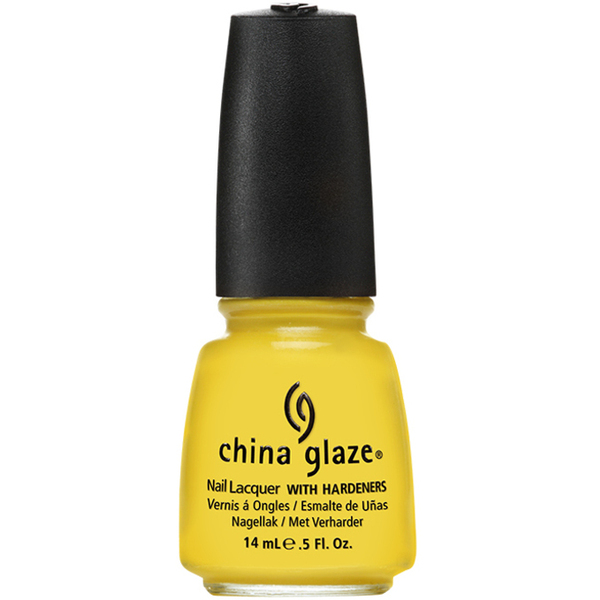 China Glaze Lacquer - SUNSHINE POP 0.5 oz. - #1034 (CG1034)