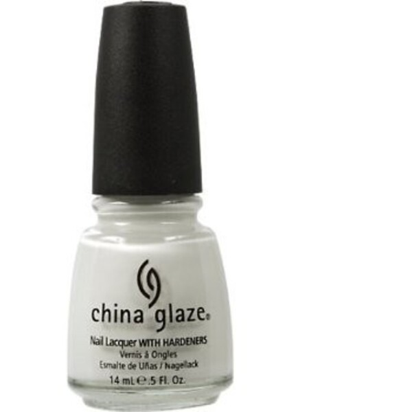 China Glaze Lacquer - WHITE ON WHITE 0.5 oz. - #023 (CG023)
