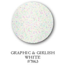 Entity One Color Couture Gel Polish - Graphic & Girlish White 0.5 oz. (7063)
