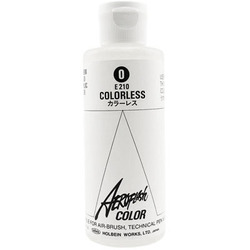 Aeroflash Liquid Acrylic Airbrush Nail Color - COLORLESS #0 3.3 oz. (4900669062103)