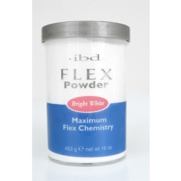 IBD Flex Powder BRIGHT WHITE 16 oz. (71833)
