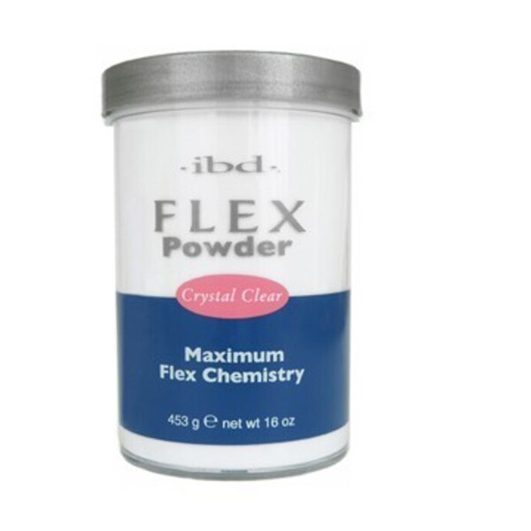 IBD Flex Powder CRYSTAL CLEAR 16 oz. (71830)