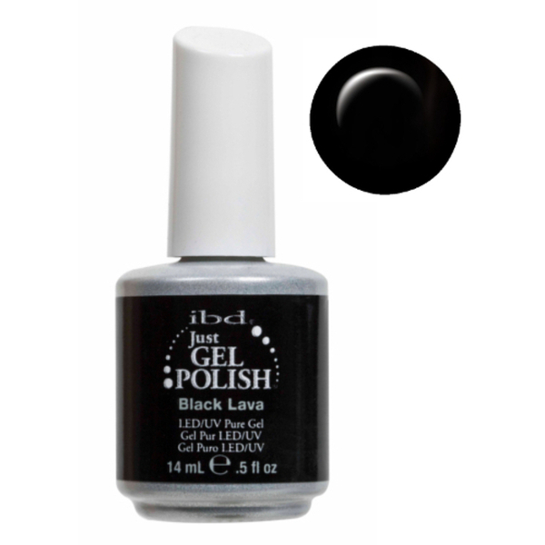 IBD Just Gel Polish - Black Lava 0.5 oz. - #56507 (56507)