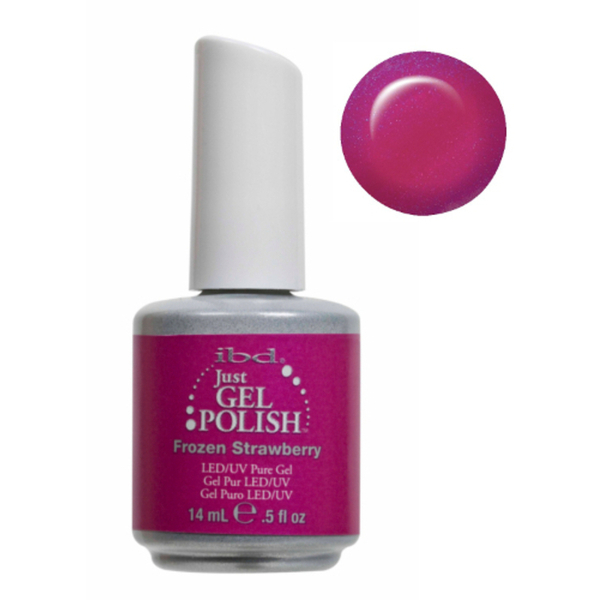 IBD Just Gel Polish - Frozen Strawberry 0.5 oz. - #56528 (56528)