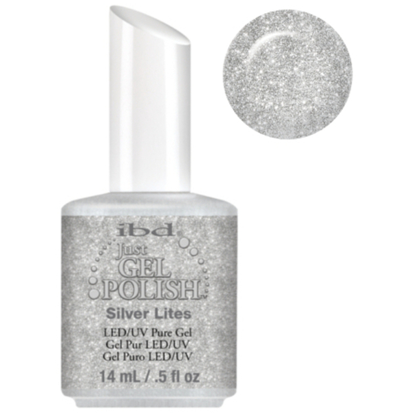 IBD Just Gel Polish - Silver Lites 0.5 oz. - #56572 (56572)