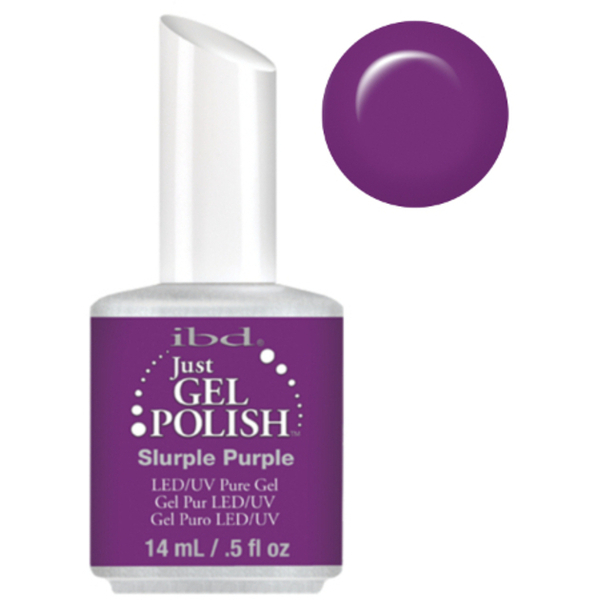 IBD Just Gel Polish - Slurple Purple 0.5 oz. - #56594 (56594)