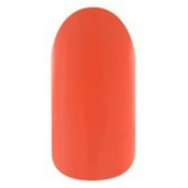 La Palm Gel II - Lightning Orange No Base Coat Gel Polish - 2 Step System (G052)