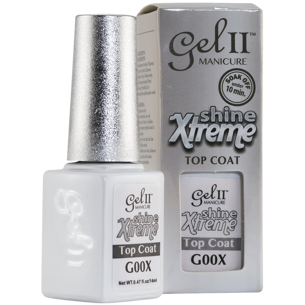La Palm Gel II - Shine Xtreme Top Coat No Base Coat Gel Polish - 2 Step System (G00X)
