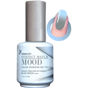 Mood Color Changing Soak Off Gel Polish - Blue Moon (MPMG12)
