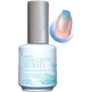 Mood Color Changing Soak Off Gel Polish - Partly Cloudy (MPMG02)