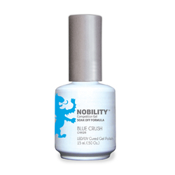 Nobility Color LEDUV Cured Gel Polish - Blue Crush 0.5 oz (NBGP116)