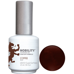 Nobility Color LEDUV Cured Gel Polish - Coffee 0.5 oz (NBGP23)