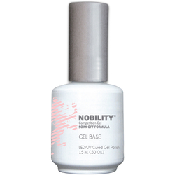 Nobility Color LEDUV Cured Gel Polish - Gel Base Coat 0.5 oz (NBGPB1)