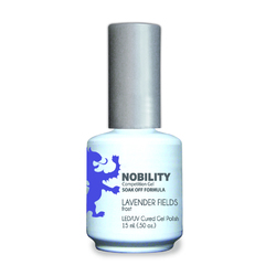 Nobility Color LEDUV Cured Gel Polish - Lavender Fields 0.5 oz (NBGP96)
