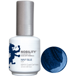 Nobility Color LEDUV Cured Gel Polish - Navy Blue 0.5 oz (NBGP20)