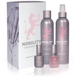 Nobility Competition Gel - Soak Off Formula Kit (845370006531)