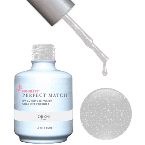PERFECT MATCH - Soak Off Gel Polish + Lacquer - CHI-CHI (PMS18)