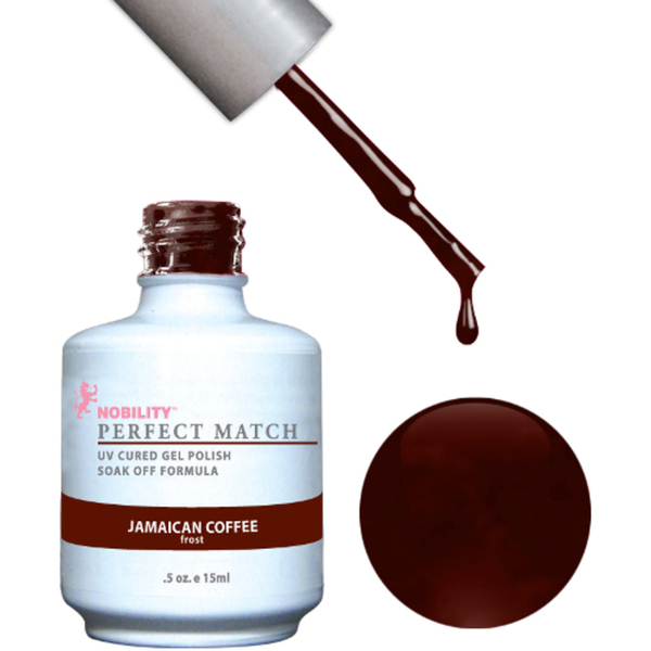PERFECT MATCH - Soak Off Gel Polish + Lacquer - JAMAICAN COFFEE (PMS32)