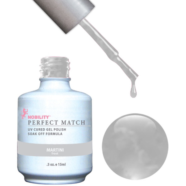 PERFECT MATCH - Soak Off Gel Polish + Lacquer - MARTINI (PMS21)