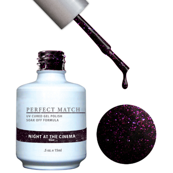 PERFECT MATCH - Soak Off Gel Polish + Lacquer - NIGHT AT THE CINEMA (PMS81)