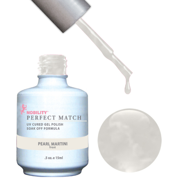 PERFECT MATCH - Soak Off Gel Polish + Lacquer - PEARL MARTINI (PMS16)
