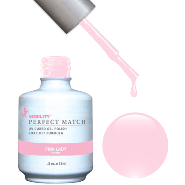 PERFECT MATCH - Soak Off Gel Polish + Lacquer - PINK LADY (PMS25)