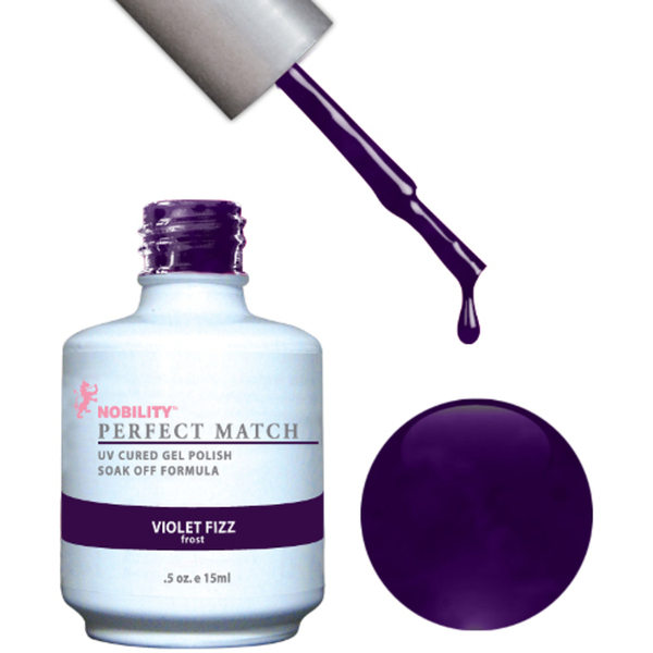 PERFECT MATCH - Soak Off Gel Polish + Lacquer - VIOLET FIZZ (PMS31)