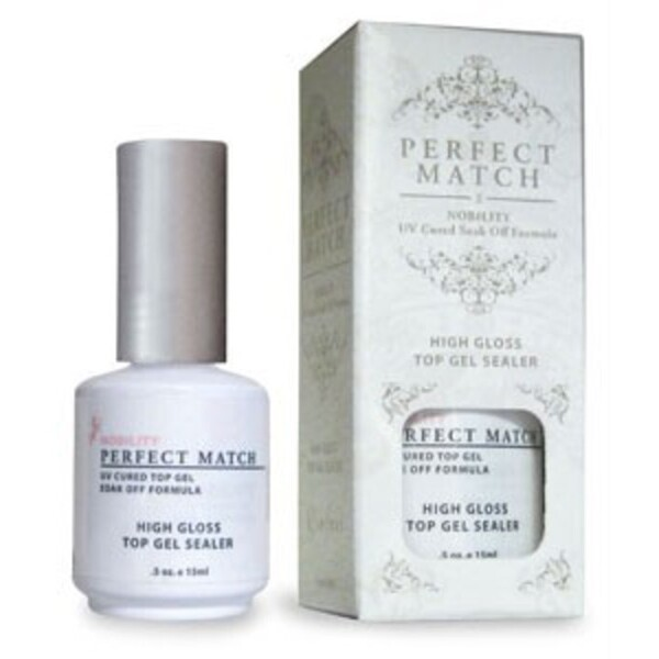 PERFECT MATCH - High Gloss Top Gel Sealer 0.5oz (PMT02)