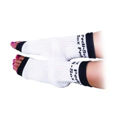Original Pedi-Sox - White with Black Trim (PS101)