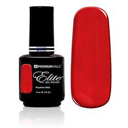 Elite Gel Polish - Roulette Red 0.5 oz. (GP555)