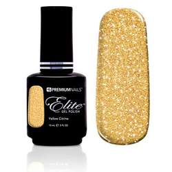 Elite Gel Polish - Yellow Citrine 0.5 oz. (GP540)