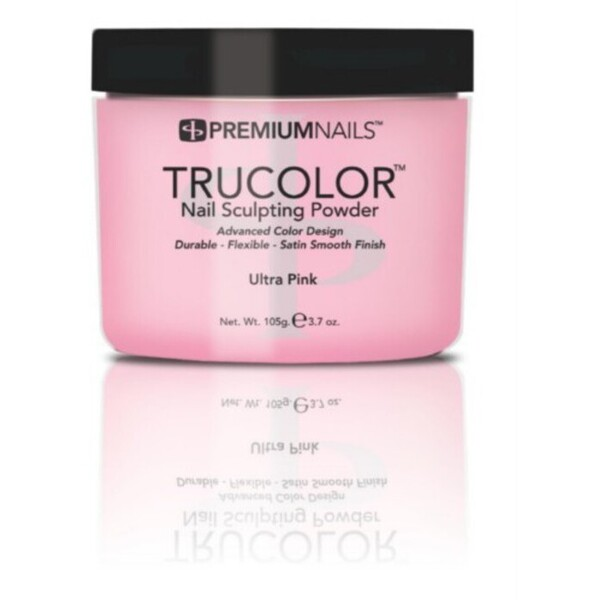 Premium Acrylic Powder - TruColor - ULTRA PINK 3.7 oz. (UP085)