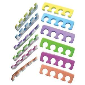 Toe Separators - Multi-Color 100 Pair (917311909633)