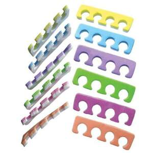 Toe Separators - Multi-Color Case of 1000 Pair (70401909150)